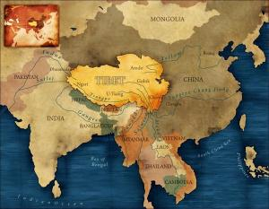The Tibetan Plateau is central in Asia's water map