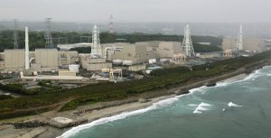 Hamaoka Nuclear Power Plant in Japan.