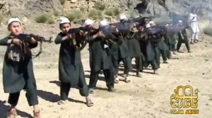 Kids firing heavy weaponry at terror-training camp in Pakistan