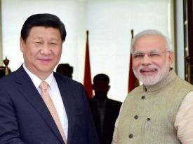 Xi Jinping in Ahmedabad