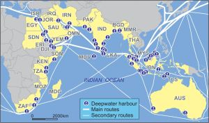 The Indian Ocean routes
