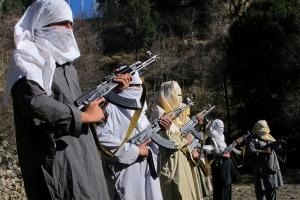 APTOPIX Pakistan Walk With Taliban