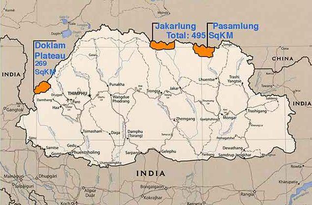 Doklam plateau
